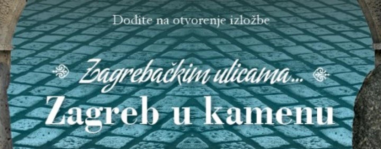 """SANDRA ŠVALJEK OTVORILA IZLOŽBU """"ZAGREB U KAMENU"""""""