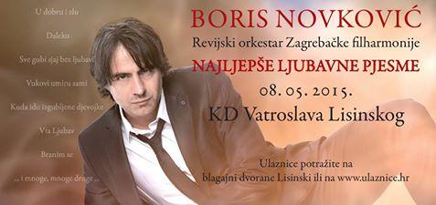 Boris Novkoviu0107_najava koncerta