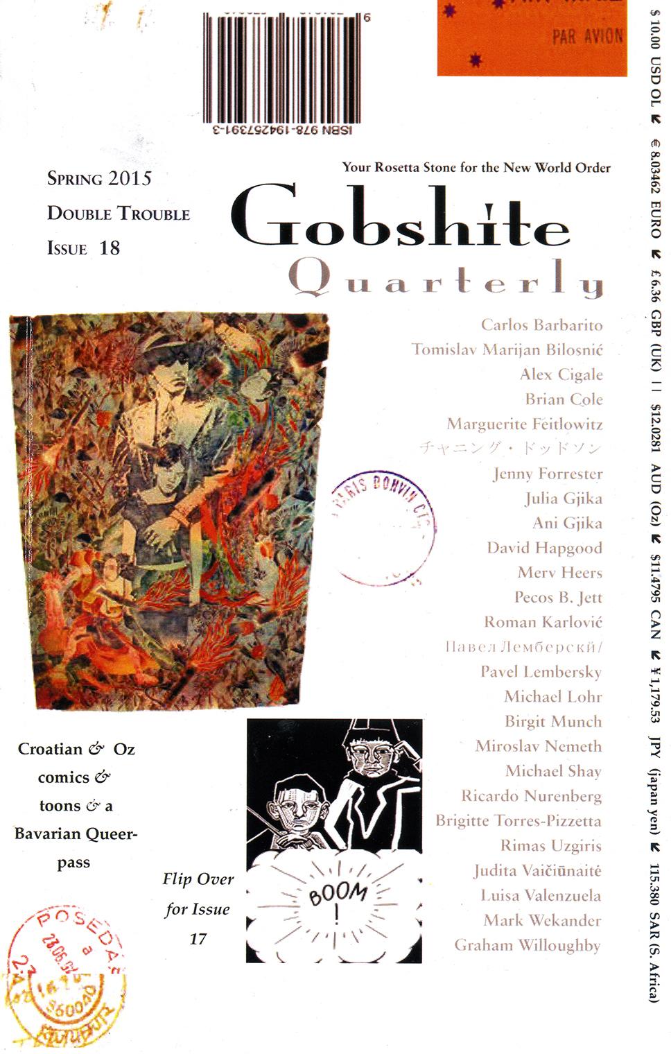 Naslovnica časopisa Gobshite