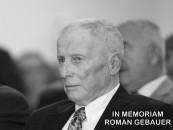 IN MEMORIAM ROMAN GEBAUER