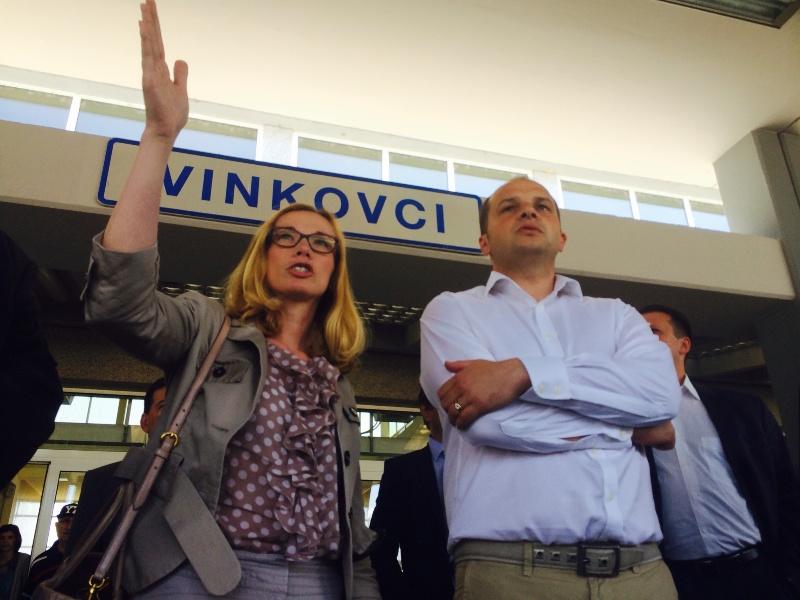ministar Hajdaš Dončić i predsjednica Uprave Renata Suša