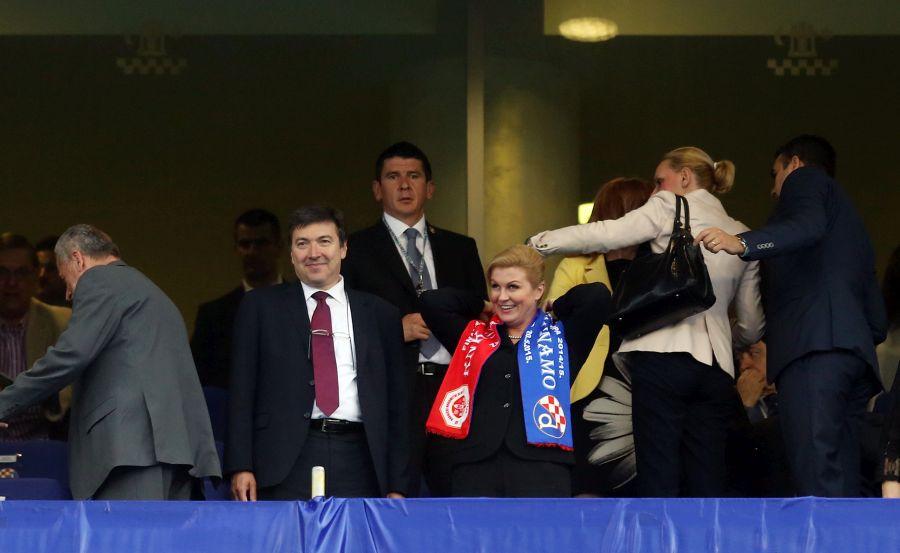 Predsjednica Grabar Kitaroviæ na finalu nogometnog kupa