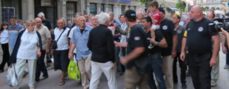 U AUSTRALIJI KAD SMO IMALI ANTIKOMUNISTIČKE PROSVJEDE POLICIJA JNAS JE  ŠTITILA