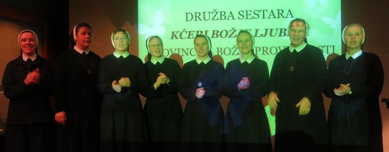 KĆERI BOŽJE LJUBAVI NA TRIBINI U DUBRAVI
