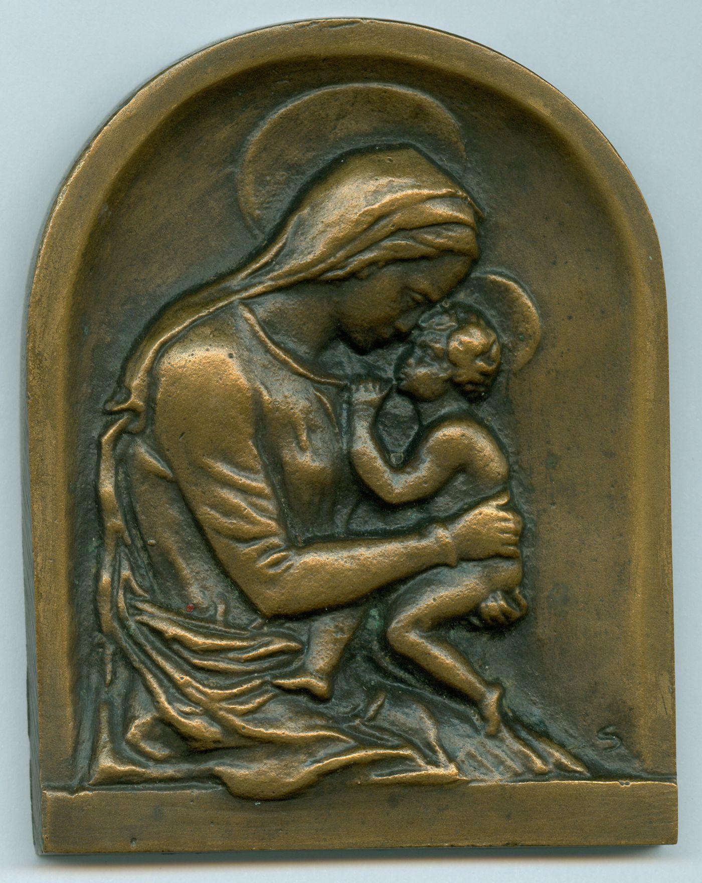 Madona s djetetom, oko 1930.