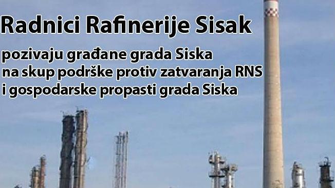 Rafinerija-Prosvjed