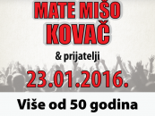 MATE MIŠO KOVAČ NAPUNIO ZAGREBAČKU ARENU