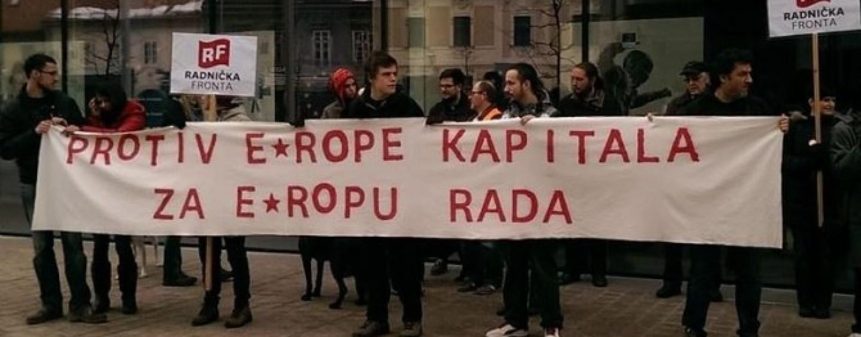 PROSVJED RADNIČKE FRONTE POD POKROVITELJSVOM SDP-a