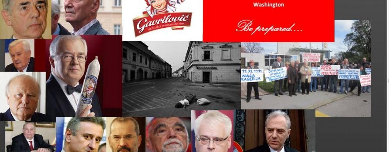 GAVRILOVIĆ TUŽI HRVATSKU U WASHINGTONU