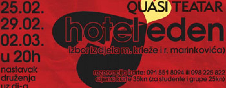 """HOTEL EDEN"" U SPLITSKOM QUASIMODU"