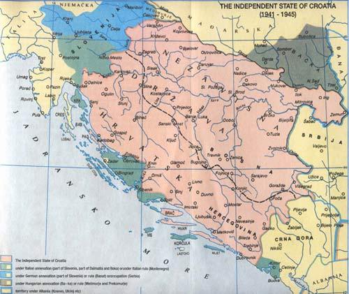 mapa NDH