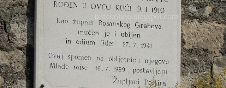 ŠUTNJA O BEATIFIKACIJI SVEĆENIKA KOJEG SU U SRBU 1941. ISPEKLI NA RAŽNJU