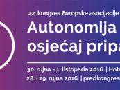 22. KONGRES EUROPSKE ASOCIJACIJE ZA PSIHOTERAPIJU (EAP) U ZAGREBU