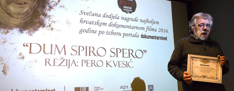 DOKUMENTARAC PERE KVESIĆA PROGLAŠEN NAJBOLJIM U 2016.