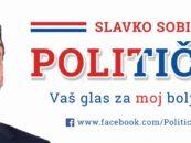 """PREMIJERA KOMEDIJE """"POLITIČAR"""" SLAVKA SOBINA"""
