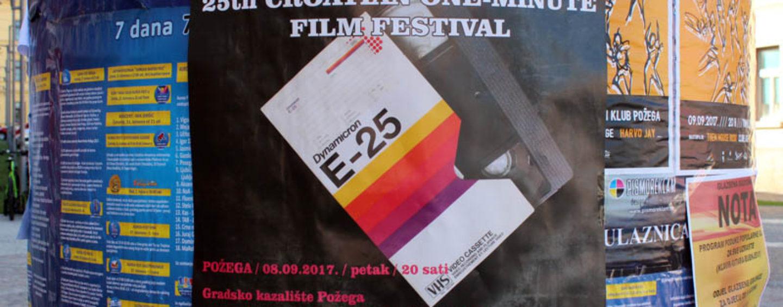 ZAVRŠEN 25. FESTIVAL JEDNOMINUTNIH FILMOVA U POŽEGI