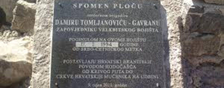 PUKOVNIK DAMIR TOMLJANOVIĆ GAVRAN