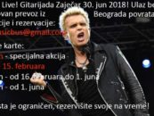 BILLY IDOL NA ZAJEČARSKOJ GITARIJADI