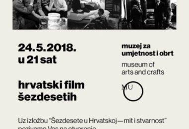 RETROSPEKTIVA HRVATSKOG FILMA ŠEZDESETIH
