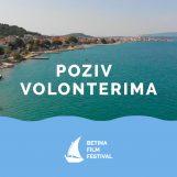BETINA FILM FESTIVAL ČEKA VOLONTERE