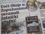 SHZ: ČETNIČKI GRAFITI U BENKOVCU